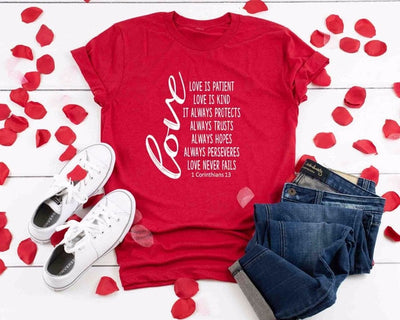 Love Slogan Passion T-Shirt