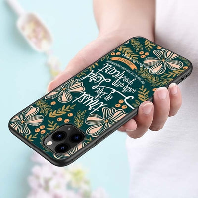 Bible Verse Silicone Phone Cover