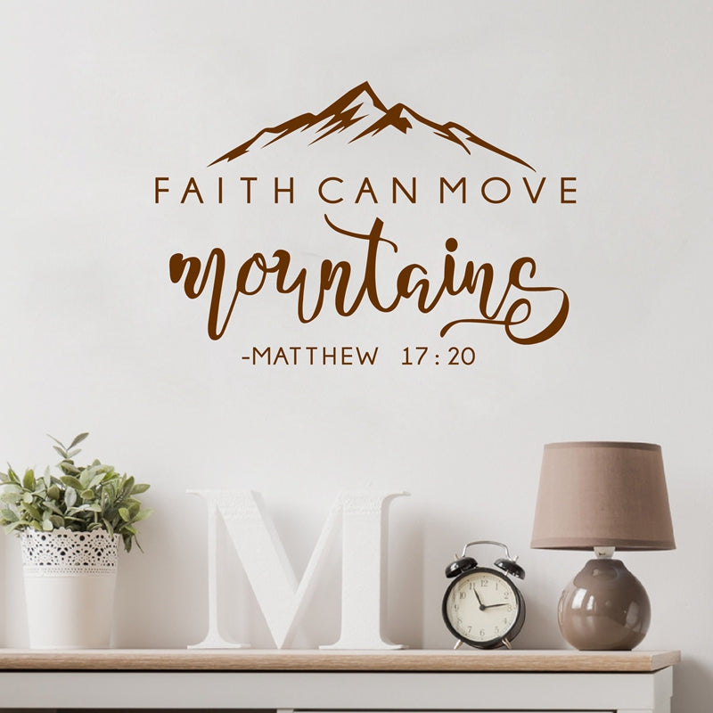 Bible Verse Vinyl Wall Sticker