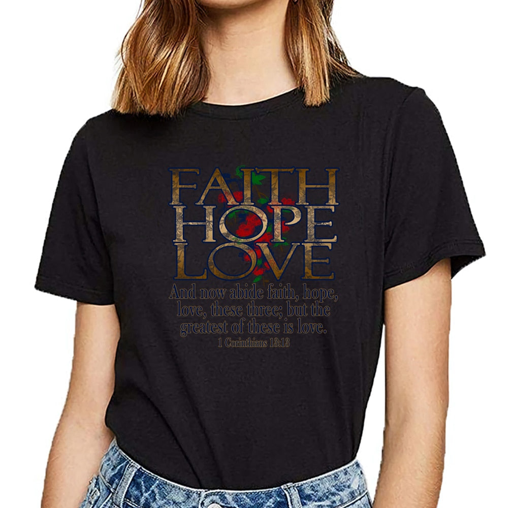 Hope Love Summer Short T-shirt