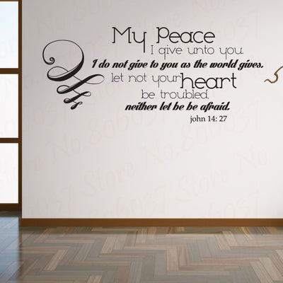 Christian Scripture Wall Sticker