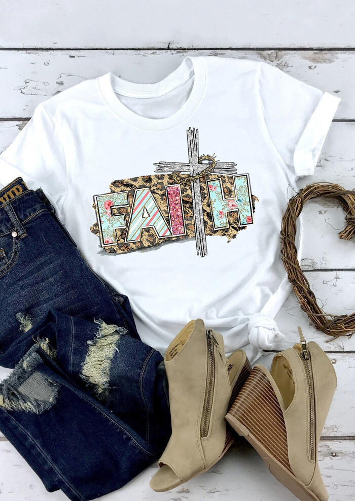 Christian Fashion Funny Cotton T-Shirt