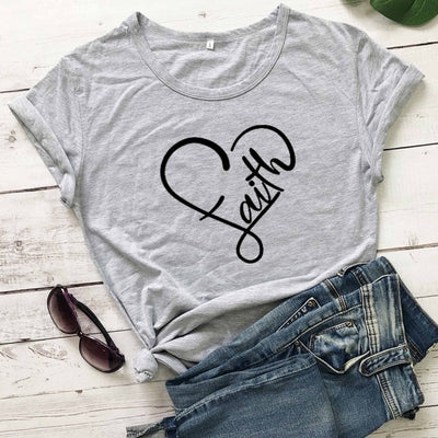 Christian Fashion Cotton T-Shirt