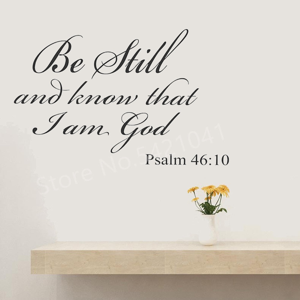 Christian Quote Walls Art Stickers
