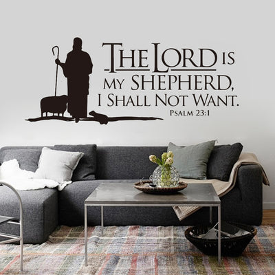 Christian Verse Quote Wall Stickers