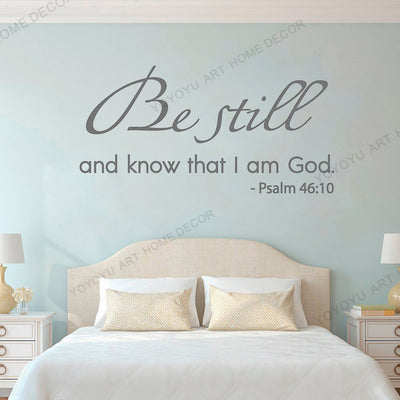 Christian Bible Quote Wall Sticker