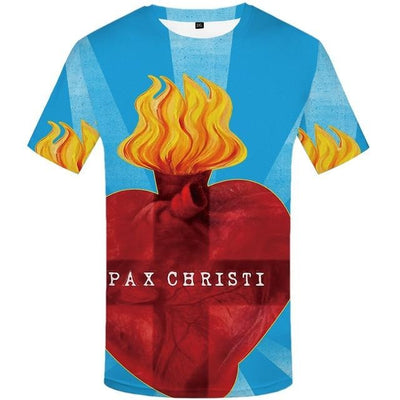 Short Sleeve Christian Funny T-shirts