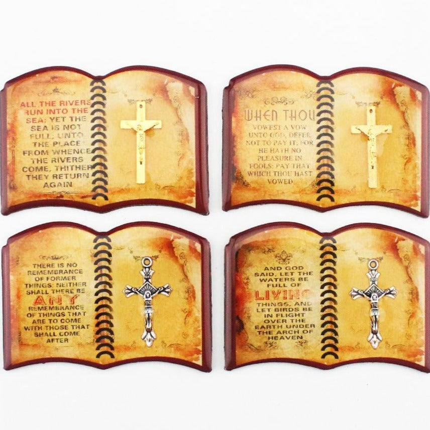 Bible Epoxy Magnetic Refrigerator Sticker