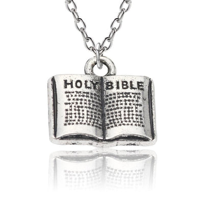 Christian Religious Book Small Pendants