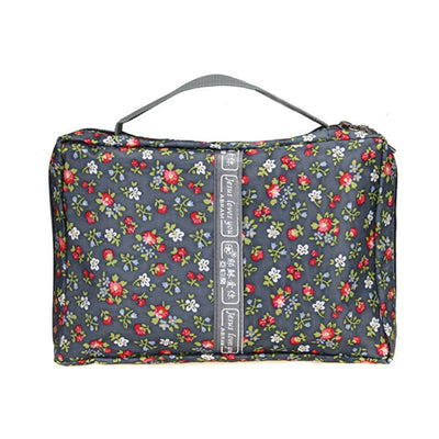 Floral Print Portable Handle Bible Bag