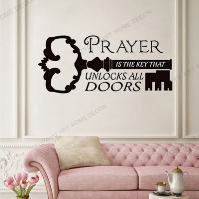 Bible Classic Quotes Wall Sticker