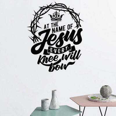 Bible Verse Vinyl Decal Religion Art