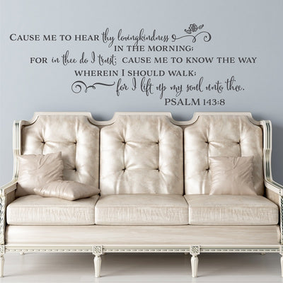 Spanish Bible Verse Wall Stickers