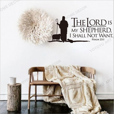 Bible Quotes Wall Stickers | Salvation