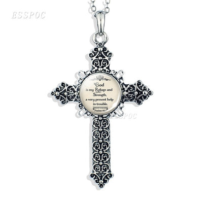 Ancient Serenity Prayer Necklace