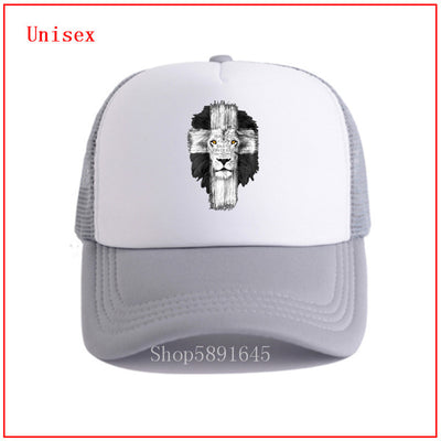 Christian Lion Cross Beach Hats