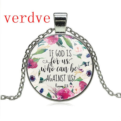 Bible Verse Quote Necklace