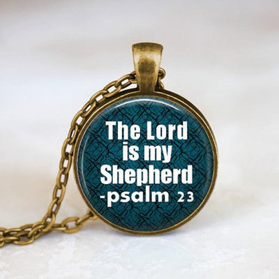 Christian Jewelry - Bible Verse Pendant Necklace | Salvation