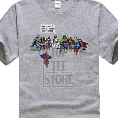 The World Superheroes Christian T-Shirt
