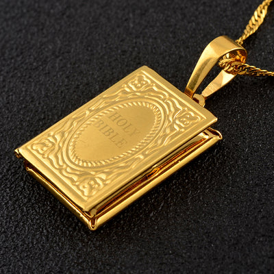 Gold Color Biblia Jewelry