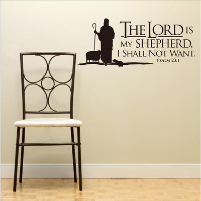 Bible Verse Wall Art Vinyl Stickers