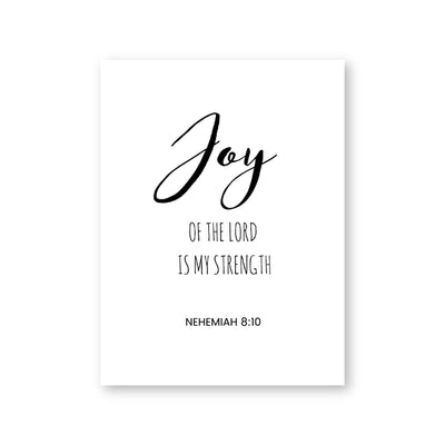 Christian Scripture Quotes Canvas