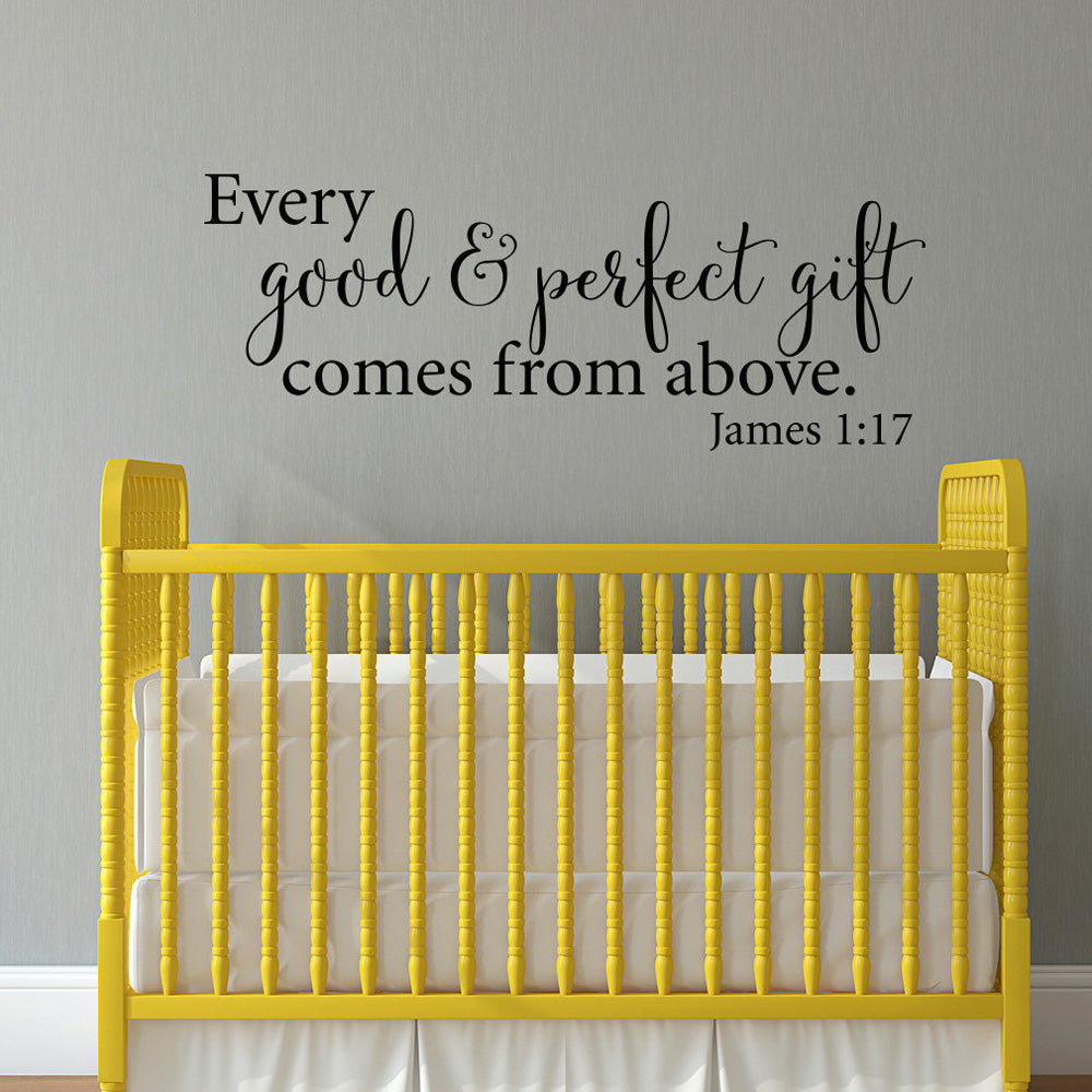 Bible Quote Vinyl Decals Wall Art