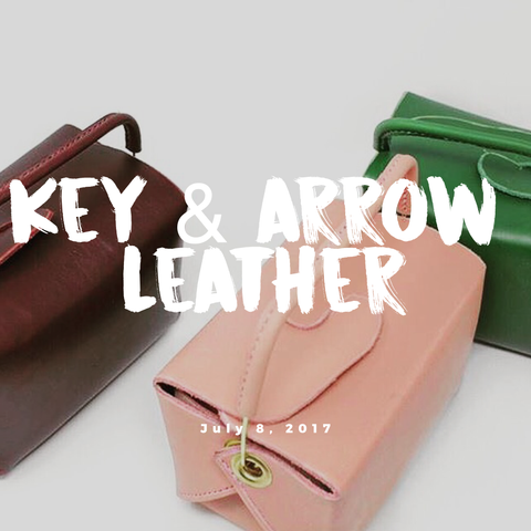 Key & Arrow Leather