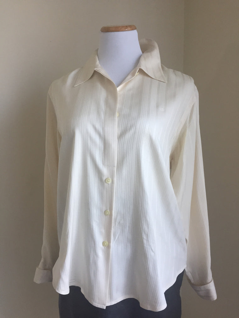 Vintage Lauren by Ralph Lauren silk blouse