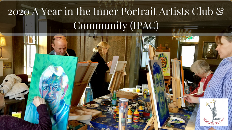 2020 A year in the Inner Portrait Artist Club and Community