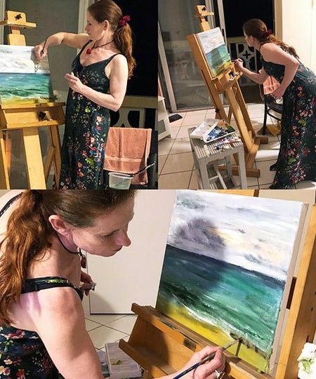 1 to 1 sessions, workshop by Michelle Turner, explore painting portraits - book your session