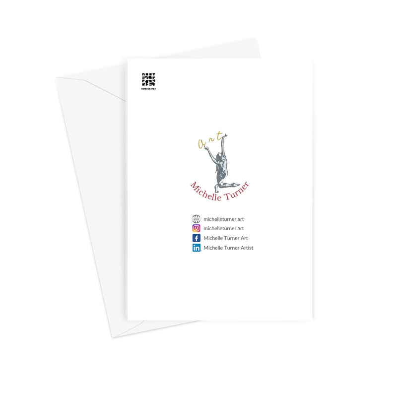 Hold your heart high by Michelle Turner. Hold your heart high with these beautiful greetings cards. They are blank inside to leave your own message and are printed on high-quality 330gsm Fedrigoni card. Free UK Delivery