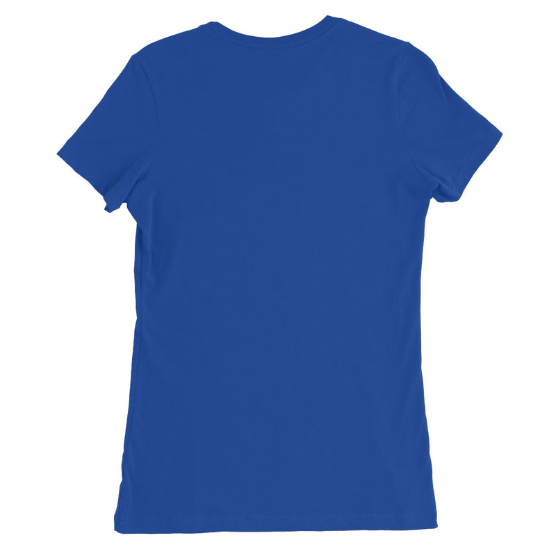 In the Spotlight by Michelle Turner. In the Spotlight women's T-shirt featuring a slim feminine fit, crew neck, short sleeves and superior Airlume combed and ring-spun cotton. Offered in a variety of colours. Free UK Delivery