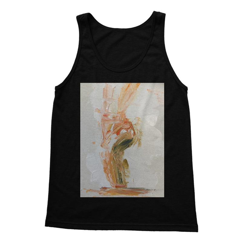 Pirouette of Life by Michelle Turner. Fabulous Pirouette of life Preshrunk jersey knit tank top. Great for dance class or relaxing in. Available in a range of colours.  Free UK Delivery