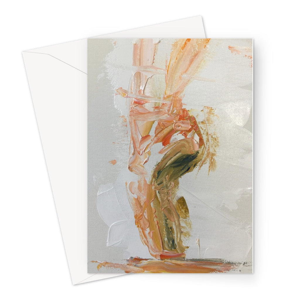 The Pirouette of Life by Michelle Turner. These greetings cards are printed on high-quality 330gsm Fedrigoni card and blank for your personal message.  Free UK Delivery