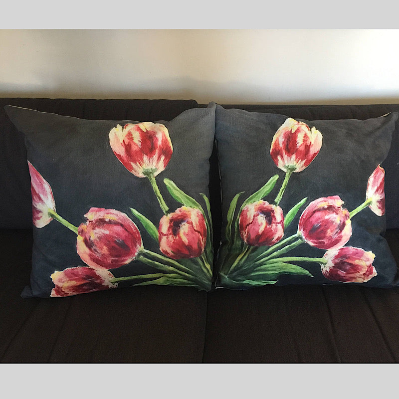 Midlife Tulips - Cushions