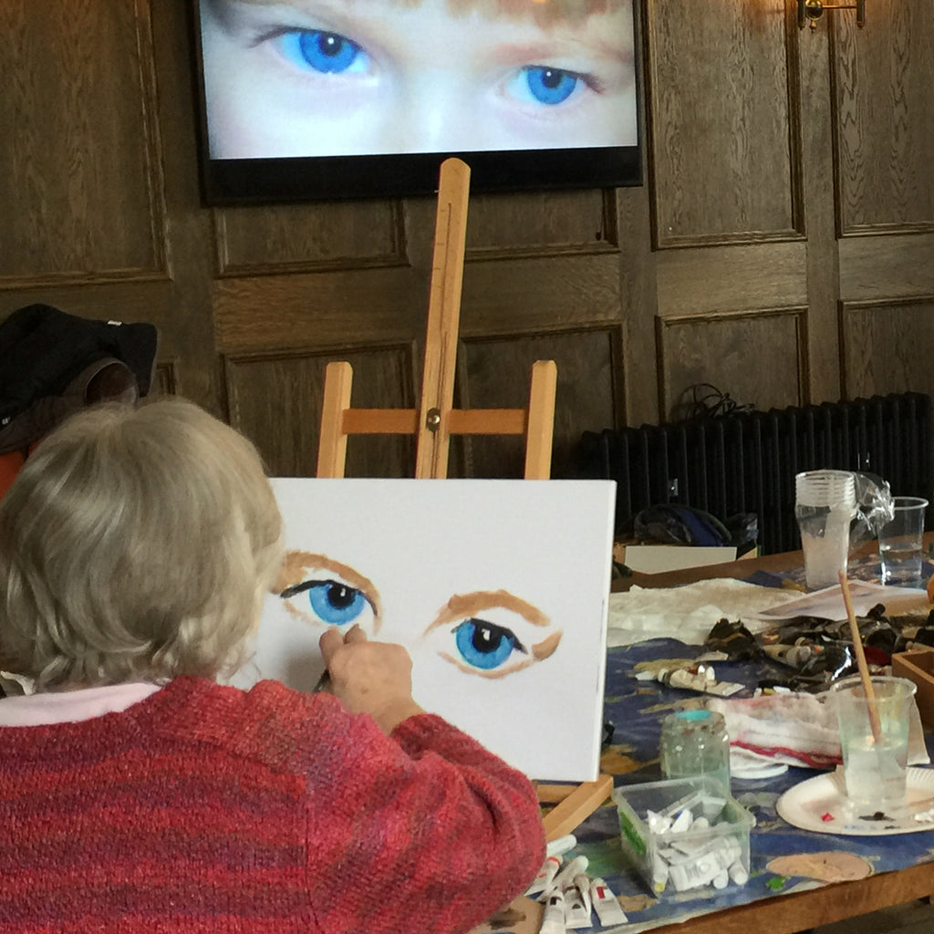 Inner Portrait Artist Individual Online Live Interactive Session