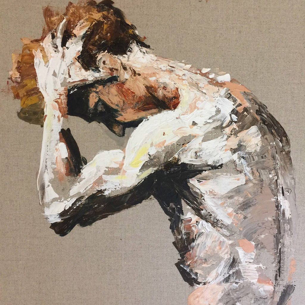 Steven McRae, Principal Male Dancer of the Royal Ballet.Original palette knife painting by Michelle Turner -  acrylic on linen