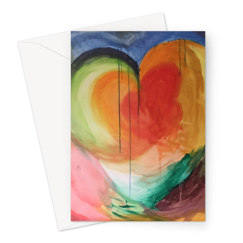 Heart of Life greetings cards by Michelle Turner. Printed on high-quality 330gsm Fedrigoni card.