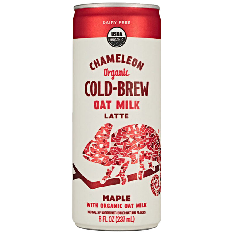 12-Pack of Cold-Brew On-The-Go: Maple Oat Milk Latte