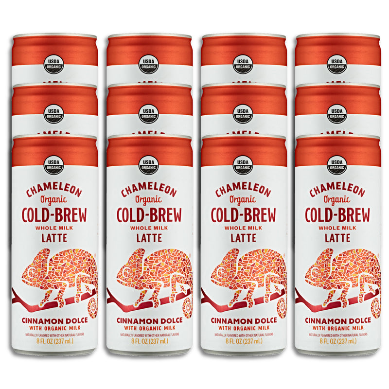Cinnamon Dolce Dairy Milk Latte: 12-Pack of Cold-Brew On-The-Go