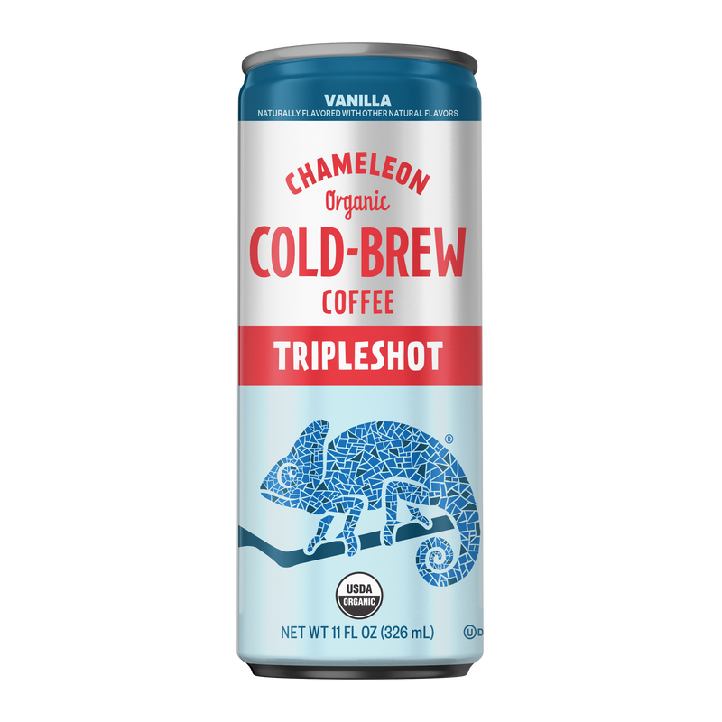 Vanilla Tripleshot Energy 12-Pack of Cold-Brew On-The-Go