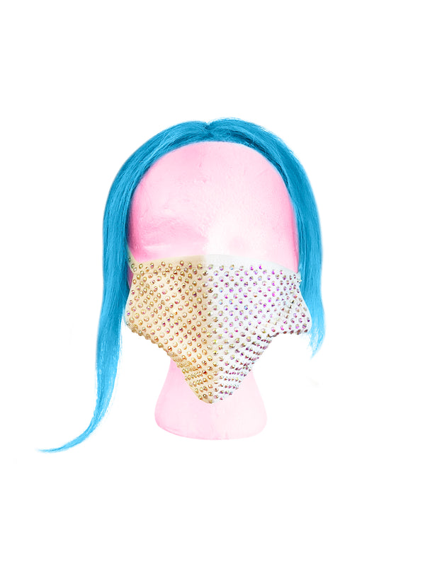 Khari Barbie Bling Me Mask (White)