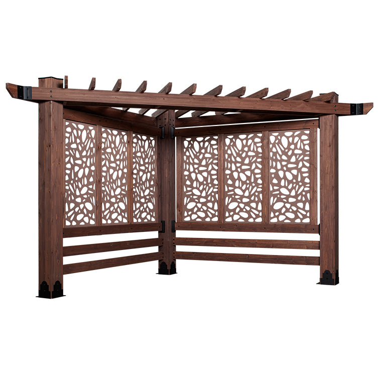 Haven Cabana Pergola - Pebble
