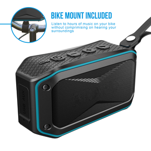 ATG rugged mini bluetooth speaker with bike mount