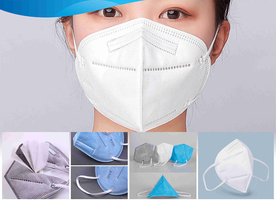 N95 Ear Loop 4 Ply Disposable Face Mask without Valve