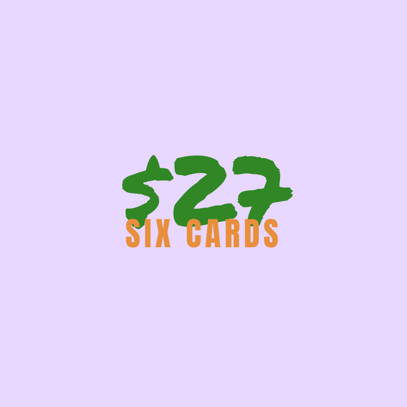 ** Spend & Save ** 6 for $27