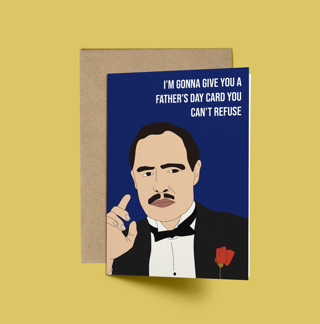 The Godfather, I'm going to give you a Father's Day you can't refuse!