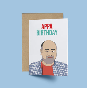 Mr Kim, Appa Birthday! Kim's Convenience Birthday Card