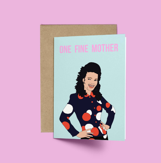 The Nanny, One Fine Mother Funny Mother's Day Card